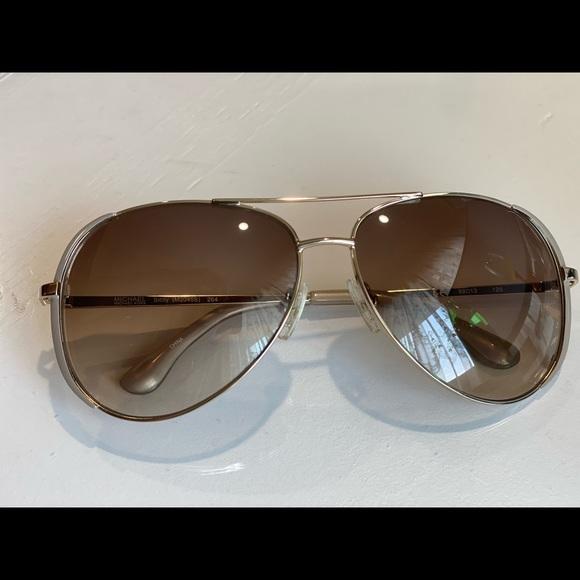 Michael Kors Sicily Sunglasses - brown gradient